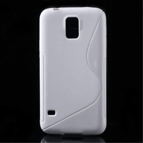 Telone Back S-Case HTC Desire 320 - Balts - silikona apvalks (bampers, vāciņš, slim TPU silicone case cover, bumper)