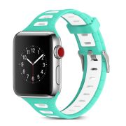 Dual Color Silicone Watch Band priekš