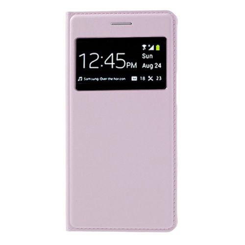 Rose for Samsung Galaxy Grand 2 Duos G7102 Window View Smart PU Leather Flip Battery Door Cover